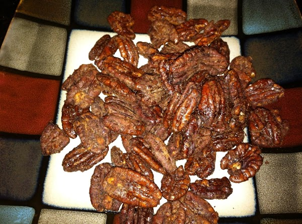 MAKE CANDIED PECANS (FOLLOW RECIPE LISTED IN INGRED) ...MAKE THIS FIRST SO THEY HAVE...