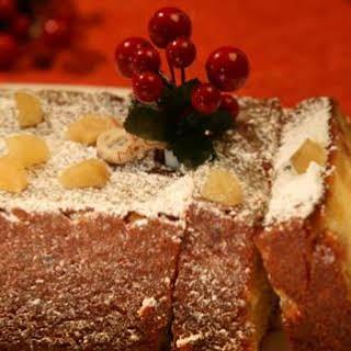Fresh Ginger Cake.