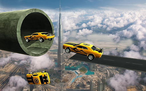Racing Car Stunts On Impossible Tracks  screenshots 9