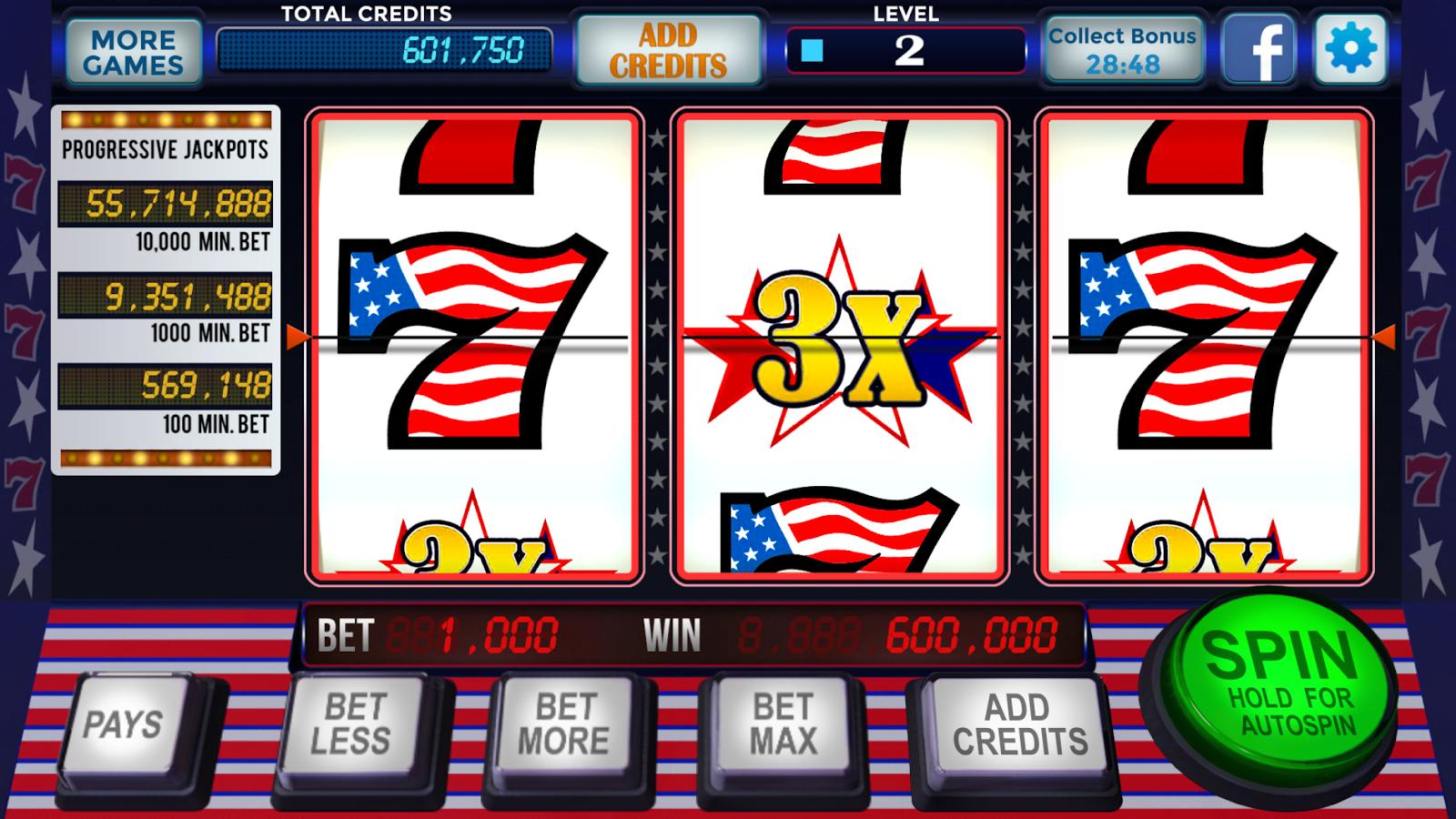 free real casino slots