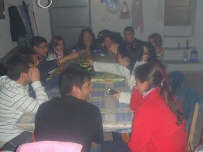 Photo: La noche de la Candelaria cenamos todos juntos y allí dormimos entre historias y juegos.