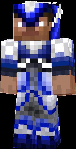Steve 90gq Texture Pack Diamond Armor Nova Skin