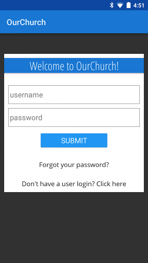 OurChurch by Twinsoft- screenshot