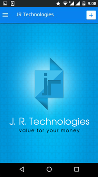 JR Technologies- screenshot