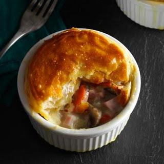 Ham and Leek Pies Recipe
