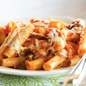 Easy Baked Ziti With Sausage