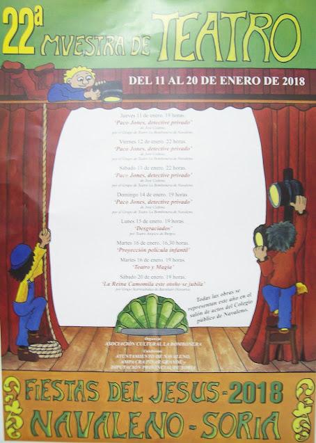 Fiestas del Jesús 2018 - XXII Muestra de Teatro