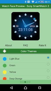 Green Droid Watch Face Lite- screenshot thumbnail
