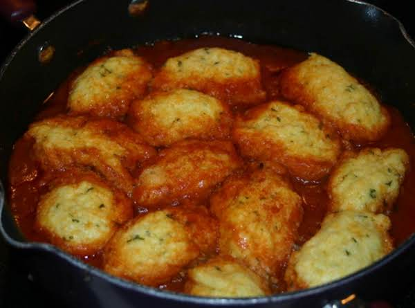 Veggie Stew With Cornbread Dumplings Recipe