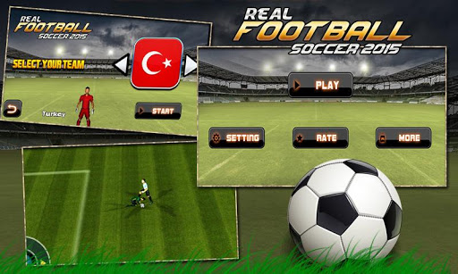 Real Football 2015 Soccer Play