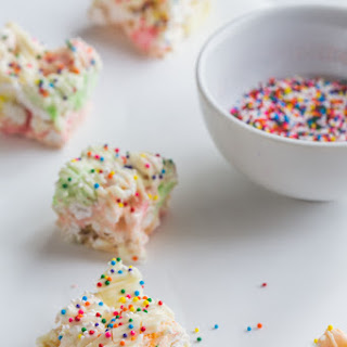 Fruity Marshmallow Popcorn Bars