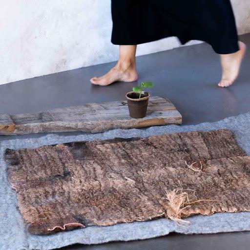 #power of female #craft #skills #Christine #Piel Creations #WabiSabi  #wool #laine