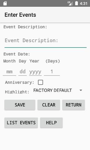 Wallet Calendar screenshots 5