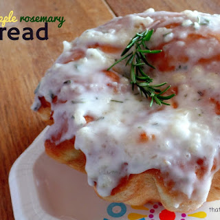 Pineapple Rosemary Bread
