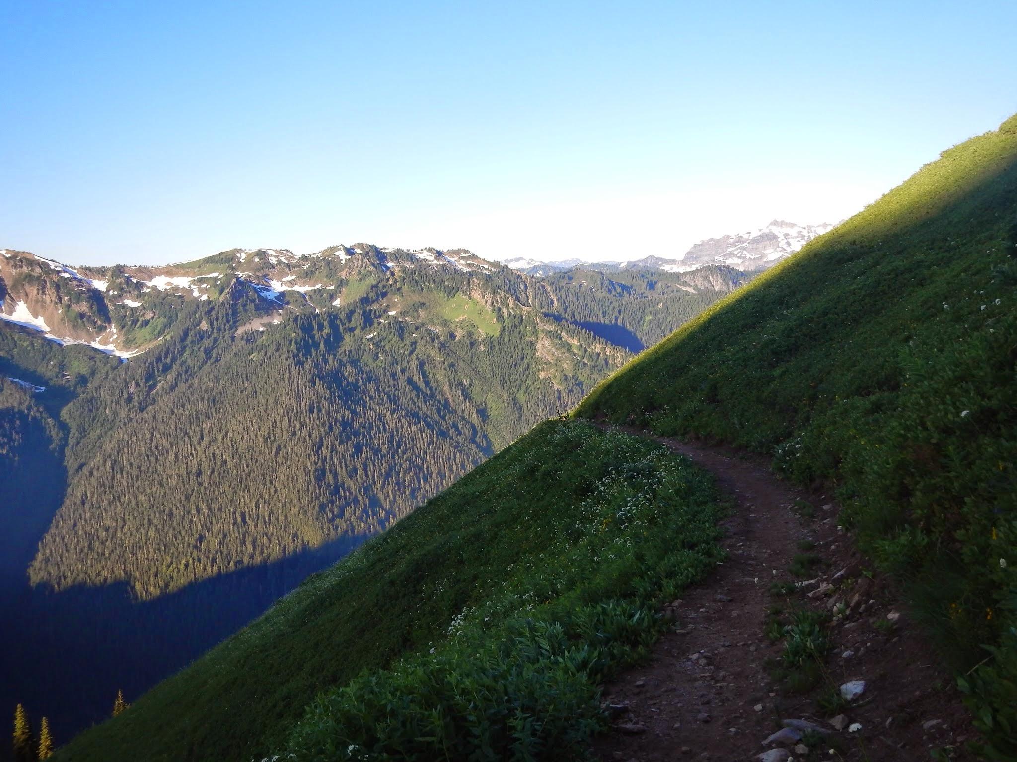 Photo: Hiking through the meadows