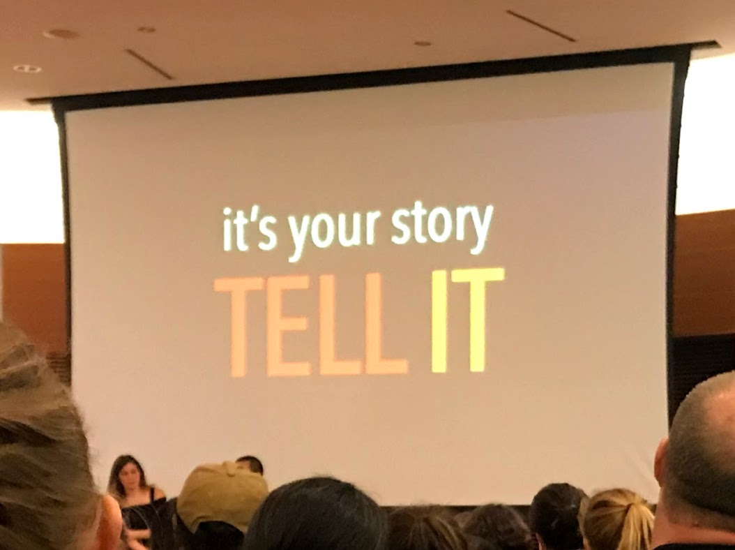picture of tell your story slide