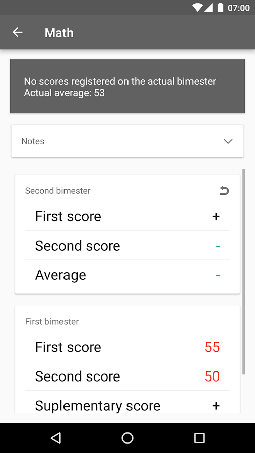 Studere - Scores and Schedule- screenshot