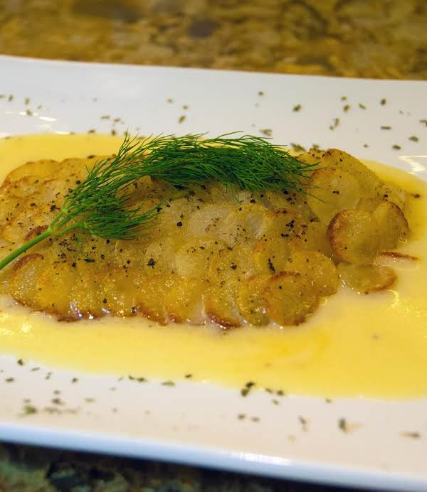 Baked Tilapia With Fish Scale Potatoes Recipe