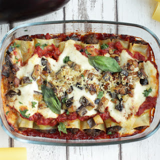 Roasted Eggplant Cannelloni