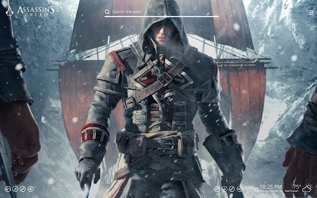 New Assassins Creed Hd Wallpapers Tab Theme