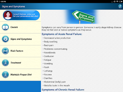 Renal Disease Kidney Diet Tips screenshot 16