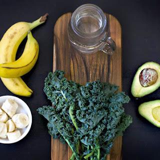 Avo-Banana Kale