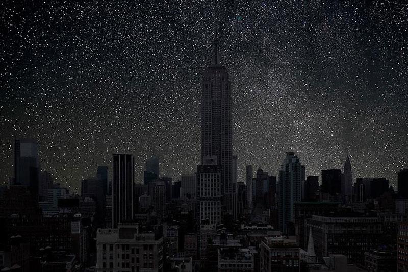 Así Se Vería El Cielo Nocturno Si Las Ciudades Se Oscurecieran Las