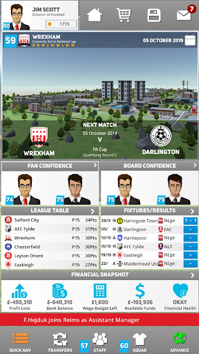 Club Soccer Director 2020 - Soccer Club Manager Screenshot
