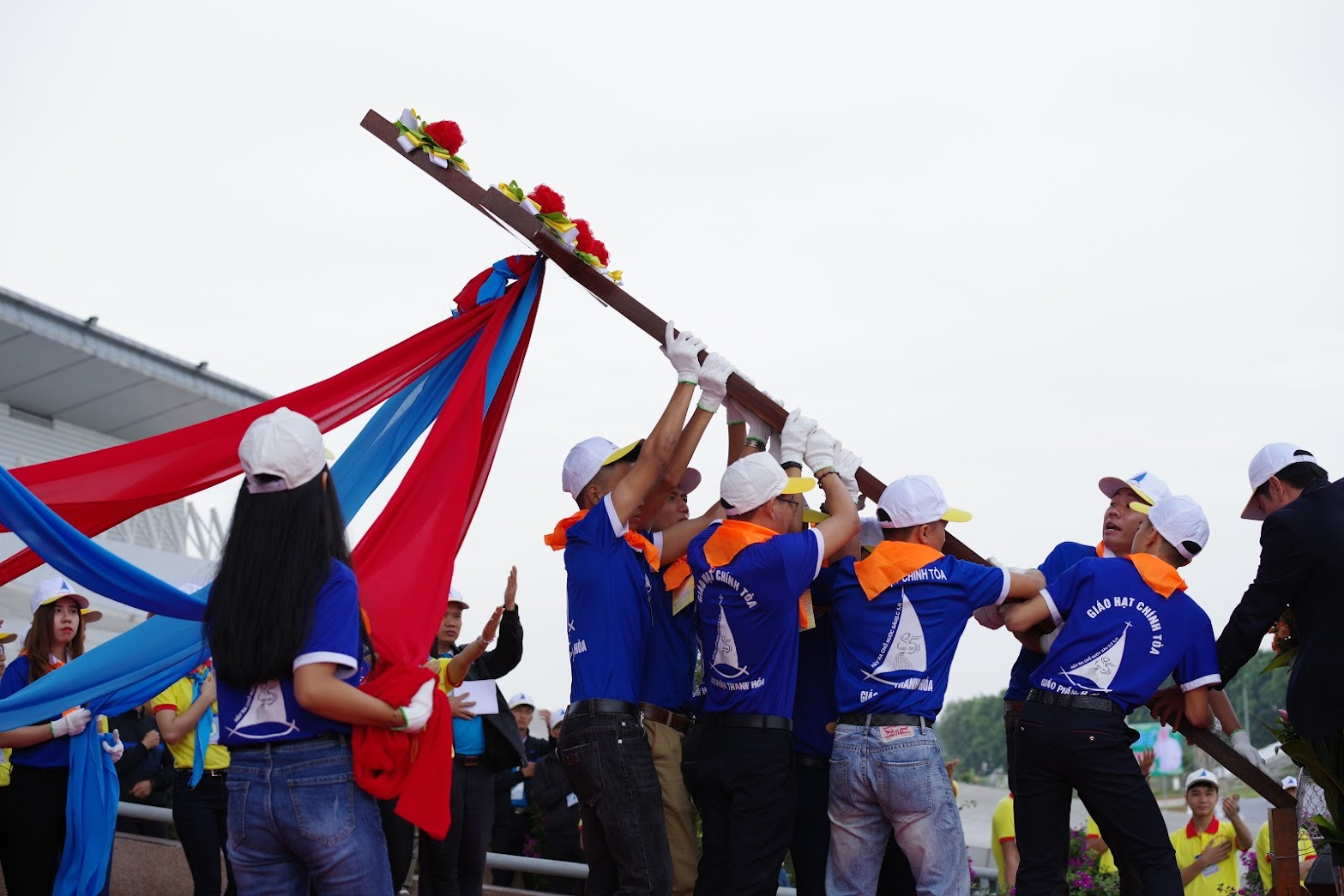 Những hình ảnh đẹp về lễ khai mạc Đại Hội Giới Trẻ giáo tỉnh Hà Nội lần thứ XV tại Thanh Hóa - Ảnh minh hoạ 35