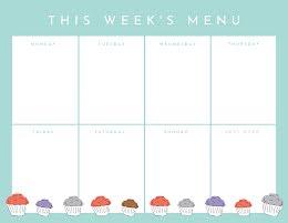 This Week's Menu - Planner item