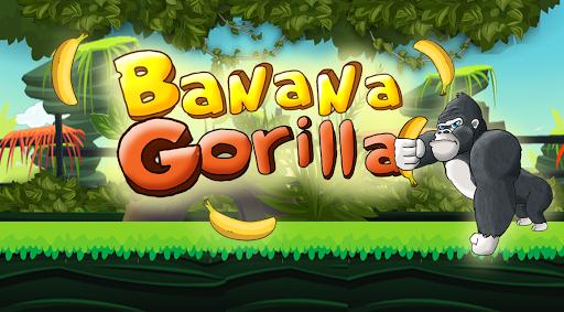 Banana Gorilla - Jungle Run