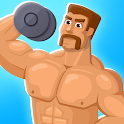 Tough Muscle Man- Gym Clicker Game icon