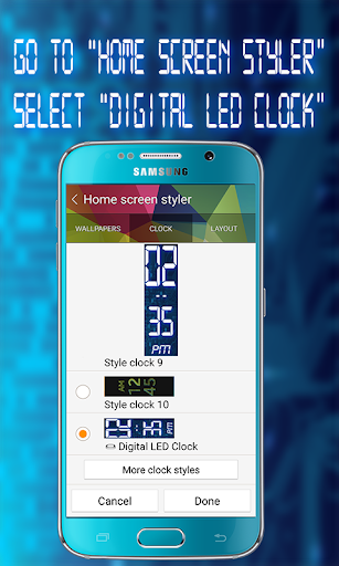 Download Gear Fit Digital LED Clock APK Full | ApksFULL com