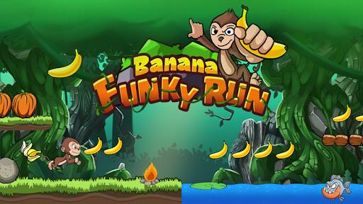 Banana Funky Run - Jungle Monkey 1.0.2 screenshots 1