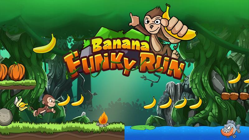Banana Funky Run - Jungle Monkey Cheat APK MOD Free Download 1.0.2