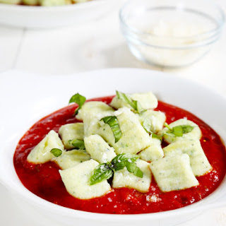 Gluten Free Zucchini Ricotta Gnocchi