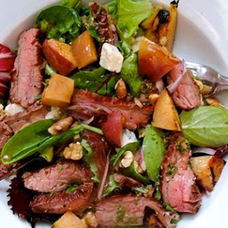 Grilled Steak Nectarine Salad