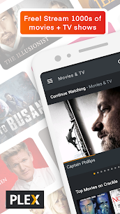 Plex: Stream Movies, Shows, Music, and other Media 1