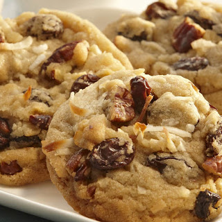 Coconut, Raisin & Pecan Cookies