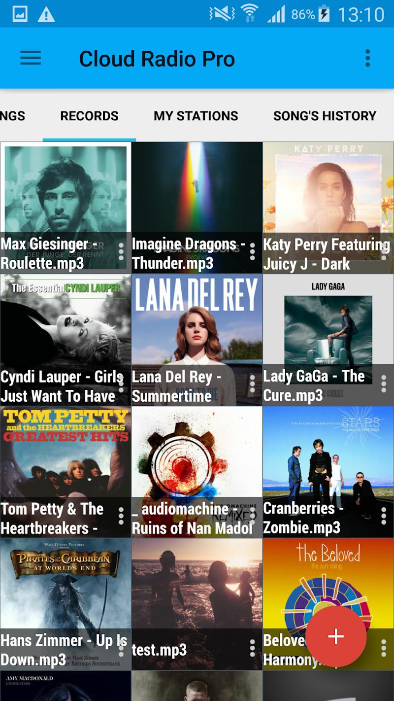 Cloud Radio Pro ( Record & Lyrics ) Screenshot 4