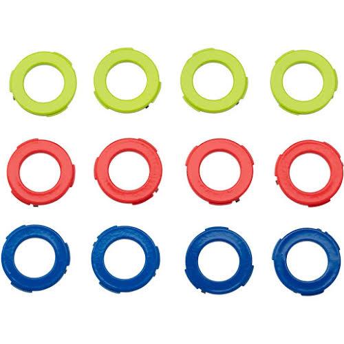 Magura 4-Piston Caliper Colored Cover Kit for one Caliper, Blue, Neon Red, Neon Yellow