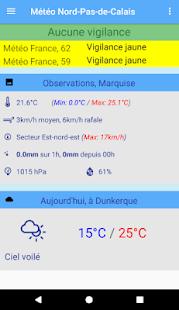 Météo Nord-Pas-de-Calais - náhled