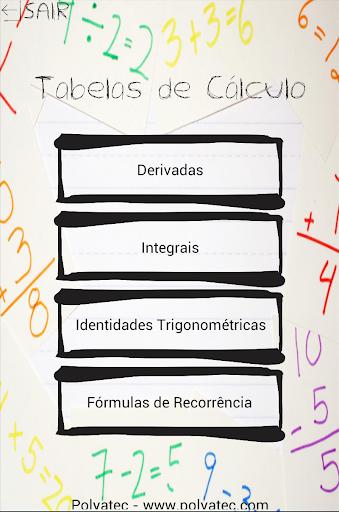 Tabelas de Cálculo