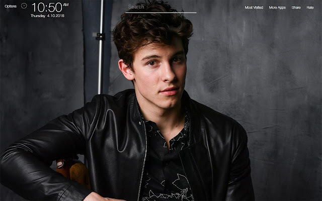 Shawn Mendes Wallpapers FullHD New Tab
