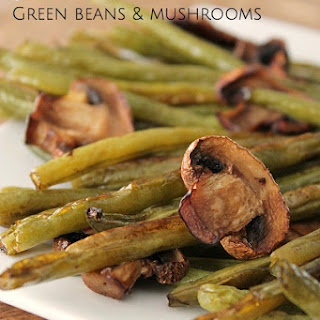 Balsamic Green Beans and Mushrooms Recipe