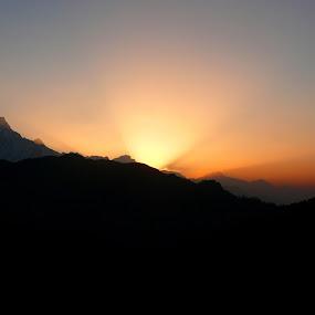 SUNRISE by Anupam De - Landscapes Sunsets & Sunrises