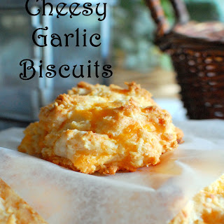 Cheesy Garlic Biscuits.