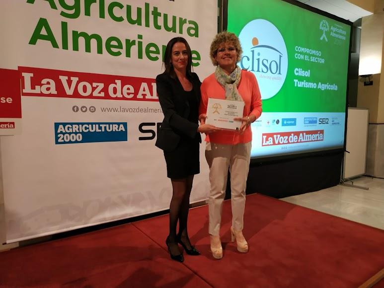 Lola Gómez, gerente de Clisol Turismo Agrícola.
