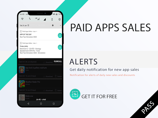 Paid Apps Sales Pro - Apps Free For Limited Time App Report on