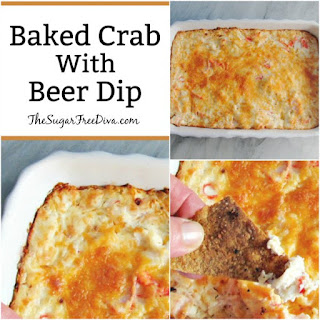 Baked Crab (with Beer!) Dip Recipe
